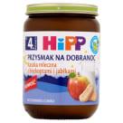 HIPP Przysmak na Dobranoc Kaszka mleczna z biszkoptami i jabłkami  BIO - po 4 miesiącu 190g