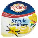 PRESIDENT Serek waniliowy 200g