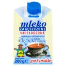 SM GOSTYŃ Mleko zagęszczone niesłodzone 4% light 200g