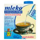 SM GOSTYŃ Mleko zagęszczone niesłodzone 4% light 500g