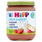 HIPP Owoce&Jogurt Truskawki i maliny z jogurtem BIO - po 6 miesiącu 160g