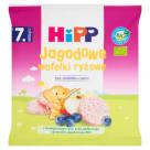 HIPP Wafelki ryżowe jagodowe BIO - po 7 miesiącu 30g