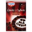 DR. OETKER Dekoracje do ciast Literki i Cyferki 60g