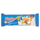 ALASKA Rurki kukurydziane nadziewane kremem kokosowym - bezglutenowe 18g