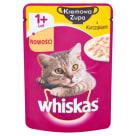 WHISKAS 1+ Pokarm dla Kotów - Kremowa Zupa z Kurczakiem - Saszetka 85g