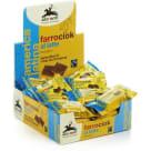 ALCE NERO Herbatniki orkiszowe z mleczną czekoladą BIO 28g