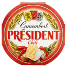 PRESIDENT Ser Camembert z chilli 120g
