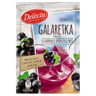 DELECTA Galaretka smak czarna porzeczka 75g