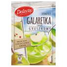 DELECTA Galaretka smak gruszkowy 75g