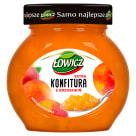 ŁOWICZ Konfitura extra z brzoskwiń niskosłodzona 240g