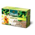 DILMAH Herbata zielona z marokańską mięta 20 torebek 30g