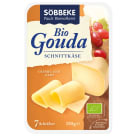 SOBBEKE Ser Gouda - plastry BIO 150g