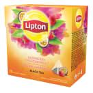 LIPTON Herbata czarna aromatyzowana Malina i Marakuja 20 piramidek 32g