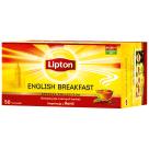 LIPTON English Breakfast Herbata czarna 50 torebek 50g