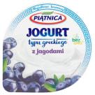 PIĄTNICA Jogurt typu greckiego z jagodami 150g