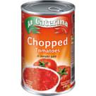 LA CATERINA Pomidory krojone bez skórki w soku 400g