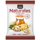 ODRA Naturales Karmelki ziołowe z witaminą C Imbir 60g