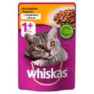 WHISKAS 1+ Pokarm dla Kotów z Kurczakiem w Galaretce - Saszetka 100g