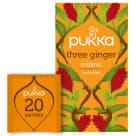 PUKKA Herbatka aromatyzowana Three Ginger BIO 20 torebek 36g