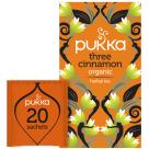 PUKKA Herbatka aromatyzowana Three Cinnamon BIO 20 torebek 40g