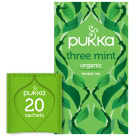 PUKKA Herbatka miętowa Three Mint BIO 20 torebek 32g