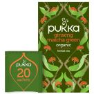 PUKKA Herbatka ziołowa Ginseng Matcha Green BIO 20 torebek 30g