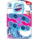 DOMESTOS Power 5 Kostka zapachowa do toalet różowa 2x53g 106g