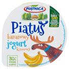 PIĄTNICA Piątuś Jogurt typu greckiego bananowy 125g