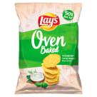 LAYS Oven Baked Pieczone formowane chipsy ziemniaczane o smaku jogurtu z ziołami 200g