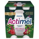 DANONE Actimel Napój mleczny tymianek-żurawina-malina 4 szt. 400g