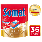 SOMAT Gold Tabletki do zmywarek 36 szt. 1szt