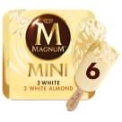 MAGNUM Mini White Mix Lody waniliowe w białej czekoladzie 6 szt. 330ml