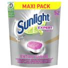 SUNLIGHT Expert Extra Shine Tabletki do zmywarki 52 szt 910g