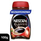 NESCAFÉ Classic Kawa rozpuszczalna bez kofeiny 100g