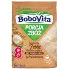 BOBOVITA Porcja Zbóż Kaszka bezmleczna 7 zbóż zbożowo-jaglana od 8 miesiąca 170g