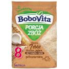 BOBOVITA Porcja Zbóż Kaszka mleczna 7 zbóż zbożowo-jaglana od 8 miesiąca 210g