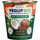 VEGUP BIO Produkt kokosowy jabłko-cynamon bezglutenowy BIO 140g