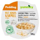 YUMMITY Pudding ryżowy z kokosem i słonym karmelem 120g