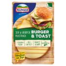 HOCHLAND Ser w grubych plastrach Burger & Toast 135g