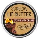BIOLOVE Masełko do ust Brownie z pomarańczą 15ml