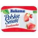BAKOMA Polskie Smaki Jogurt o smaku truskawkowym 120g