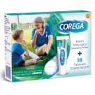 COREGA Zestaw krem neutralny smak +18 tabletek + poradnik gratis 1szt