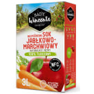 SADY WINCENTA Sok jabłko - marchew w kartonie tłoczony 3l