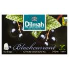 DILMAH Cejlońska czarna herbata z aromatem czarnej porzeczki 20 torebek 30g