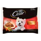 CESAR Pokarm dla Psów - Wybór Smaków w Sosie (4 saszetki) 400g