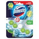 DOMESTOS Power 5 Kostka toaletowa o zapachu limonki i zielonej herbaty 1x55g 55g
