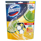 DOMESTOS Power 5 Kostka toaletowa Lime (5x55g) 275 g