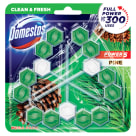 DOMESTOS Power 5 Kostka toaletowa Pine (3x55g) 165 g