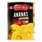 SANDRA Ananas plastry 565g