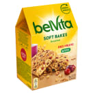 BELVITA Breakfast Ciastka zbożowe z żurawiną i rodzynkami 250g